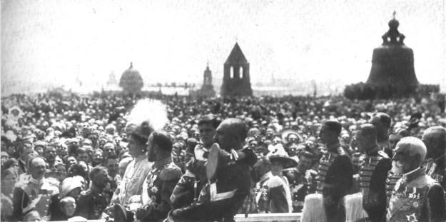 парад, толпа, фотография, царь колокол