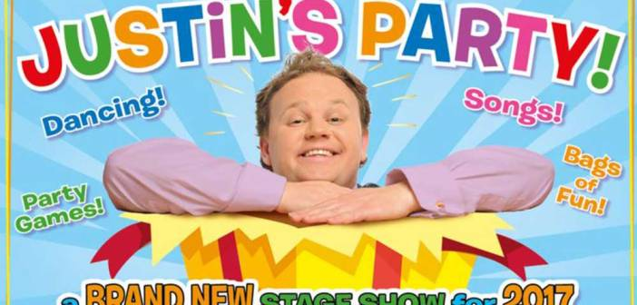 CBeebies' Justin comes to York Barbican this spring!