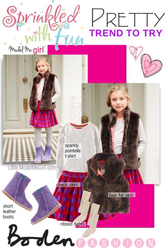 Sparkles Checks Girls Fashion by Boden_LMMG