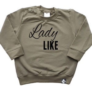 baby sweater khaki ladylike