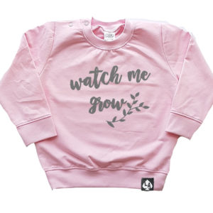 baby sweater roze grow