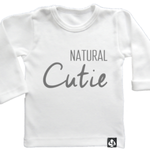baby tshirt wit lang mouw cute