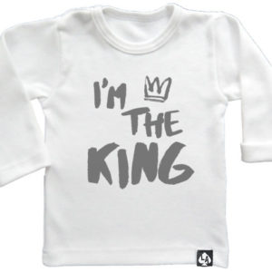 baby tshirt specials im the king wit