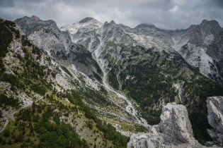Albania Theth Hike Panorama