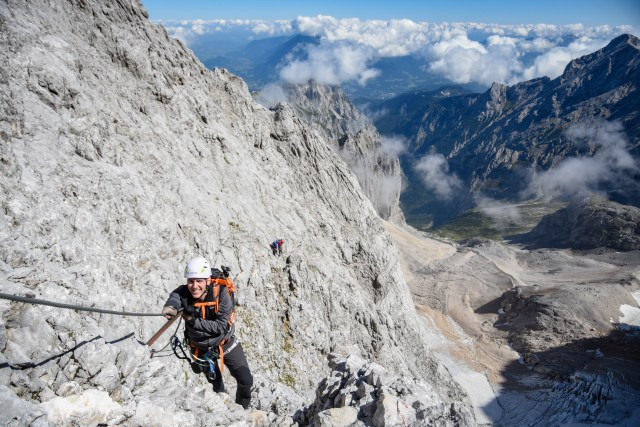 Germany Zugspitze Up Via Ferrata Solo