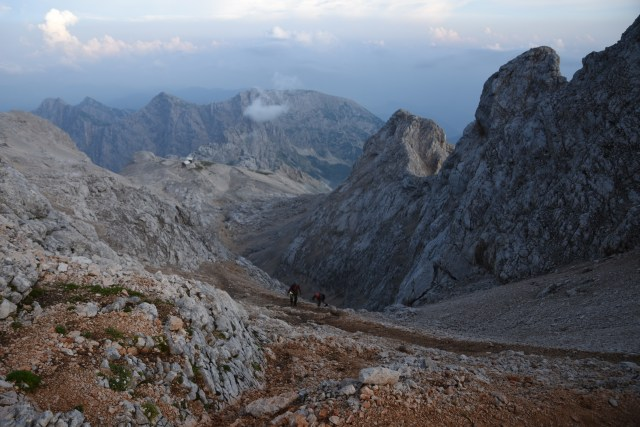 Slovenia Triglav Hike Up View