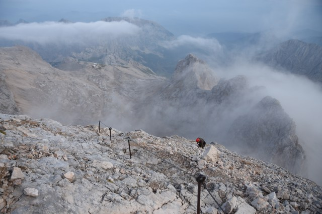 Slovenia Triglav final ascent