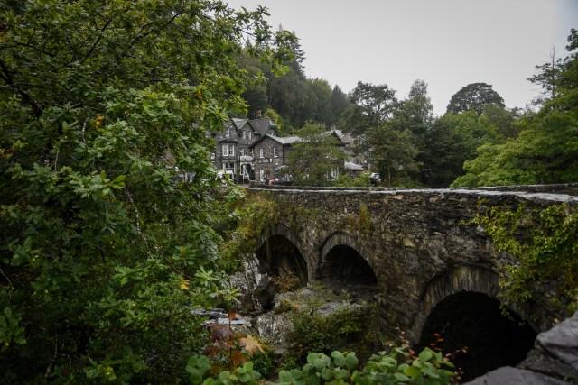 Wales Village Bridge view