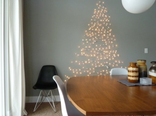 alternative christmas tree light garland