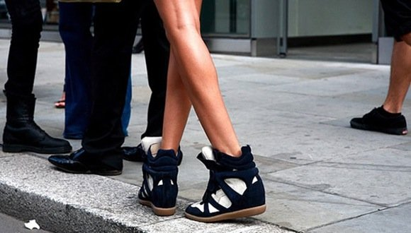 isabel marant wedge the sneaker trend