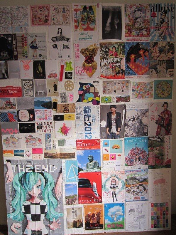 mood board japan