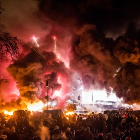 EUROMAIDAN FIGHTS THE POWER!