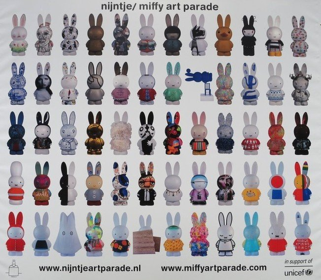 miffy art parade