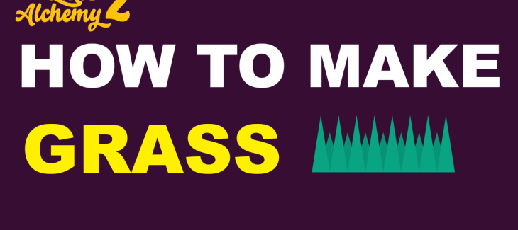 How to Make Grass in Little Alchemy 2