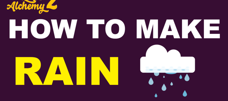 How to make Rain in Little Alchemy 2