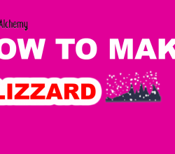 How to Make blizzard in Little Alchemy