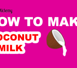 How to Make Coconut milk in Little Alchemy