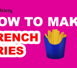 How to Make French fries in Little Alchemy