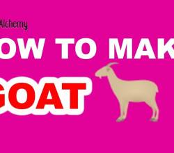 How to Make a Goat in Little Alchemy