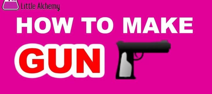 How to Make a Gun in Little Alchemy
