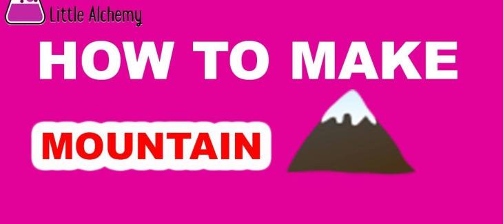 How to Make a Mountain in Little Alchemy