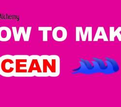 How to Make an Ocean in Little Alchemy
