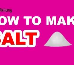 How to Make Salt in Little Alchemy