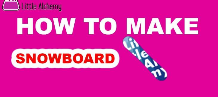 How to Make a Snowboard in Little Alchemy
