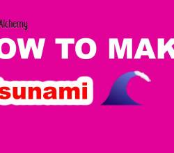 How to Make a Tsunami in Little Alchemy