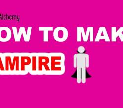 How to Make a Vampire in Little Alchemy