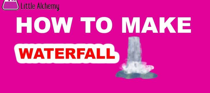 How to Make a Waterfall in Little Alchemy