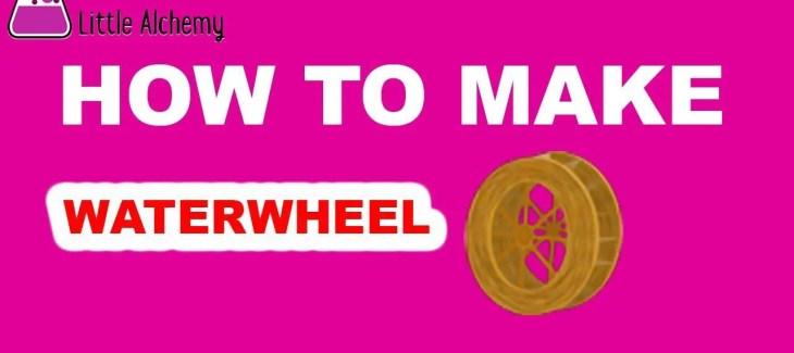 How to Make a Waterwheel in Little Alchemy