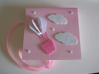 Caixinha rosa balão