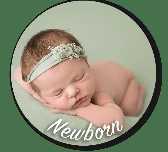 Newborn Photo by Ashten Hansen, Little Bambinos Photography, Gold Coast