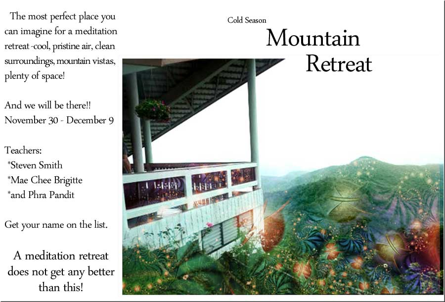 Retreats: (1/3)