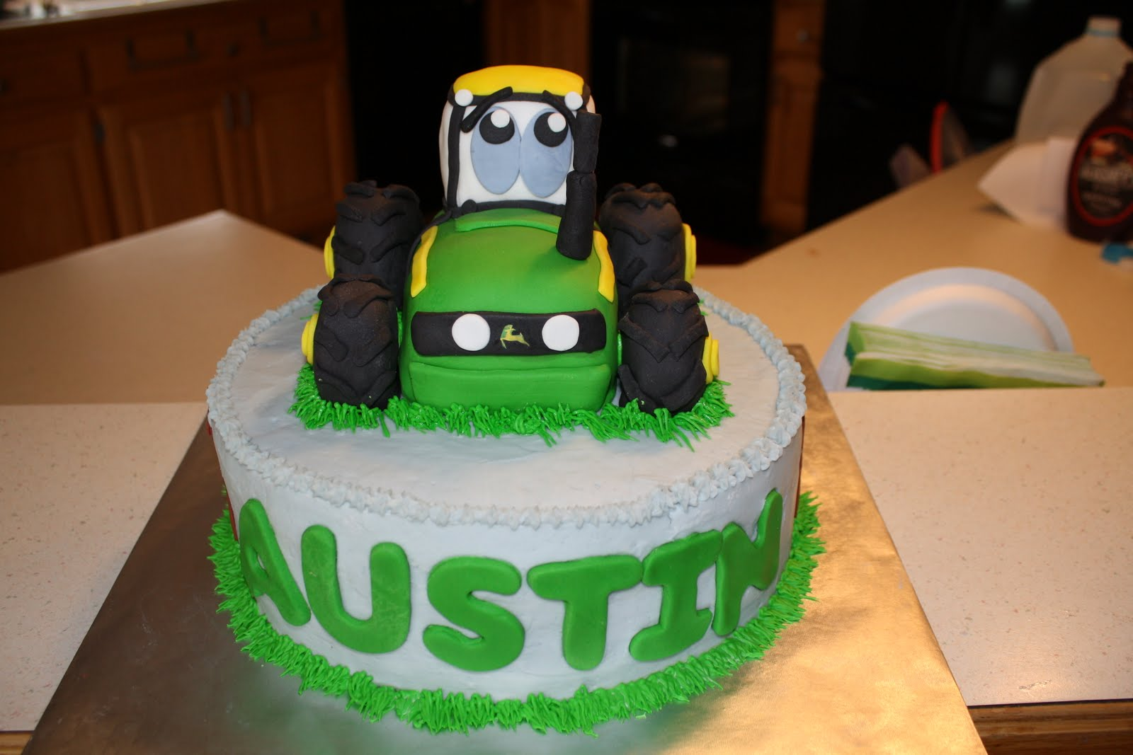 Tractor Cakes – Decoration Ideas