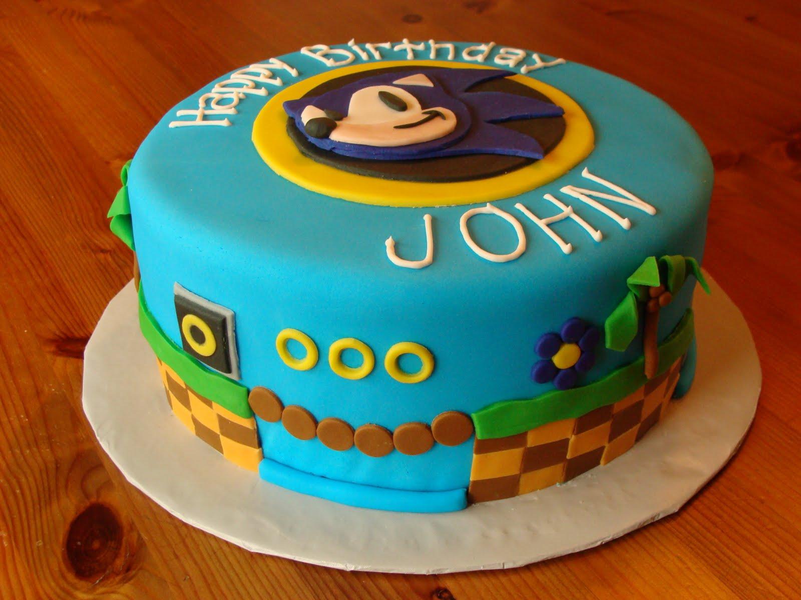 Sonic Cakes – Decoration Ideas