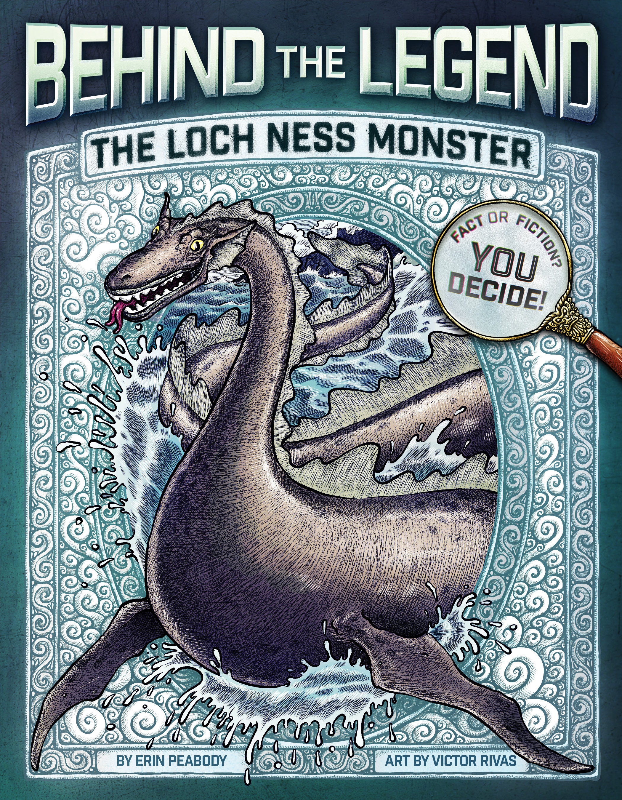 Behind The Legend The Loch Ness Monster Paperback