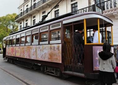 Straßenbahn aus den 30er-Jahren