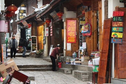 Gasse in Lijiang Old Town