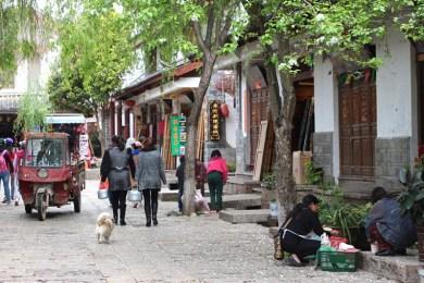 Straßenszene in Shuhe