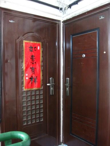 Tür an Tür mit den Nachbarn