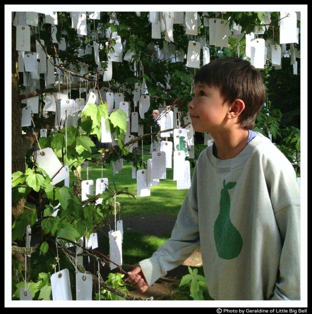 Little-M-by-the-wishing-tree-Louisiana-museum-of-modern-art-Copenhagen-Little-Big-Bell-blog