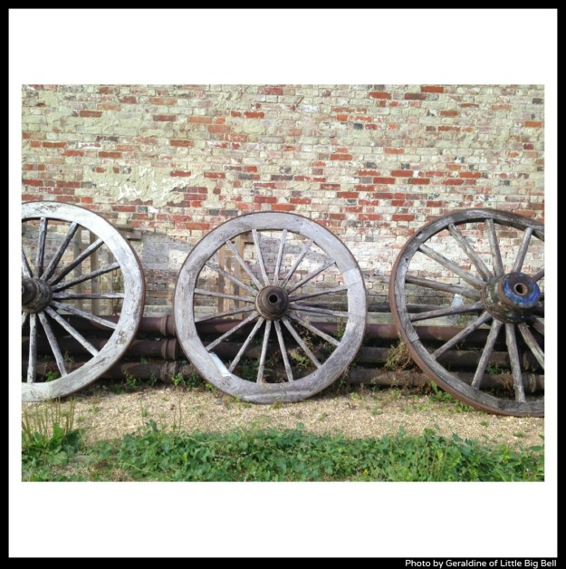 Pythouse-walled-garden-wooden-wheels-photo-by-Little-Big-Bell-blog