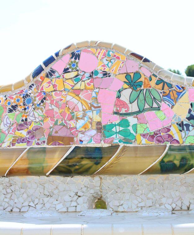 Pink_mosaics_Gaudi_Barcelona_Little_Big_Bell
