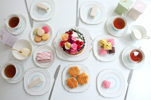 English-tea-party-on-vintage-china-styling-and-photo-by-Geraldine-Tan-Little-Big-Bell