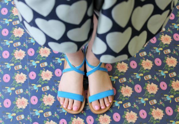 Johnnie-B-sandals-Riviera-suede-photo-by-Little-Big-Bell