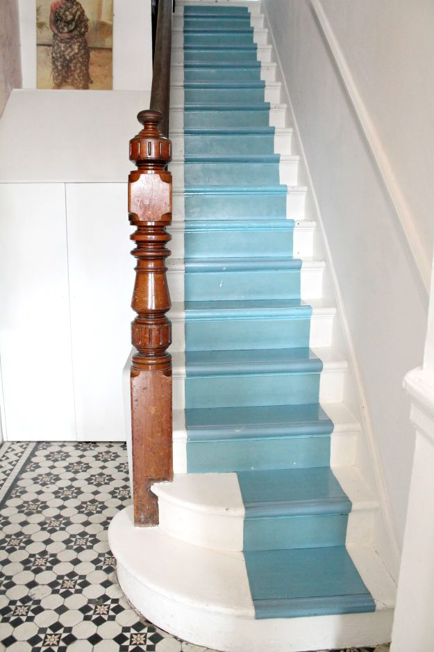Painted-stairs-blue-photo-by-Little-Big-Bell
