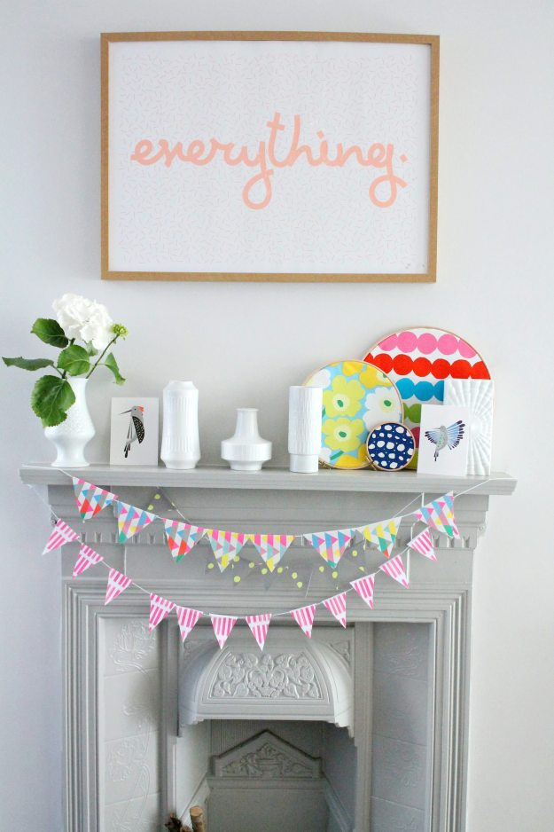 How-to-style-a-fireplace-with-DIYs-colourful-styling-and-photo-by-Little-Big-Bell-Littlebigbell