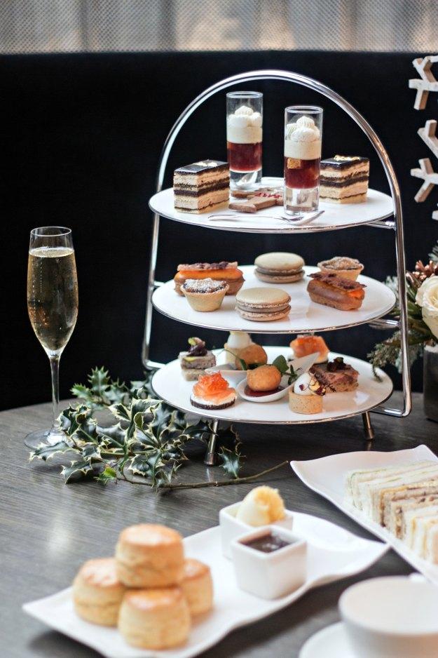 Pont St Christmas Afternoon Tea-